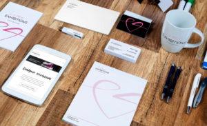 identyfikacja wizualna wykonywana przez Love Exhibitions Consulting